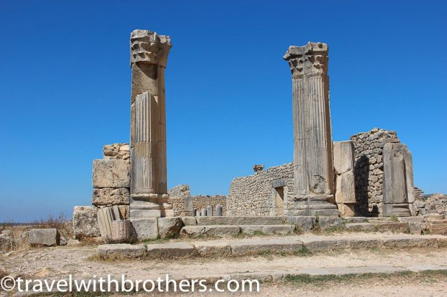 Volubilis, the House of the Columns