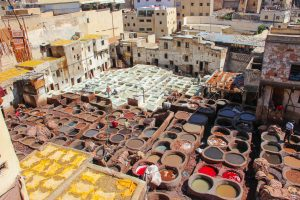the picturesque tanneries of Fes