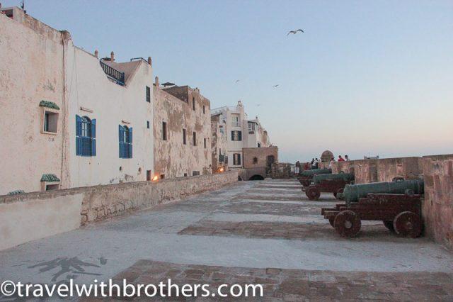 Essaouira, the Skala the Kasbah
