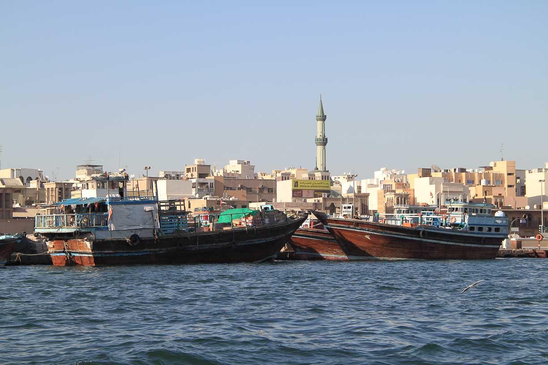 Dubai, the old neighborhood of Deira