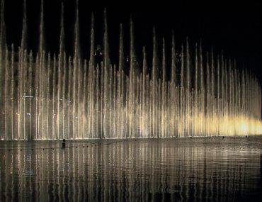 UAE, Dubai fountain light show