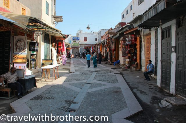 Rabat, shops in the old Medina