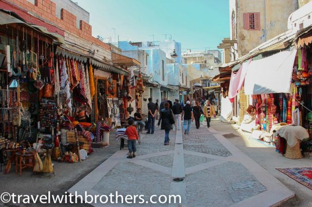 Rabat, shops in the Medina