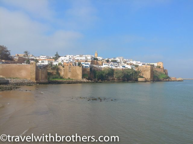 Rabat, the fortified Oudaia Kasbah