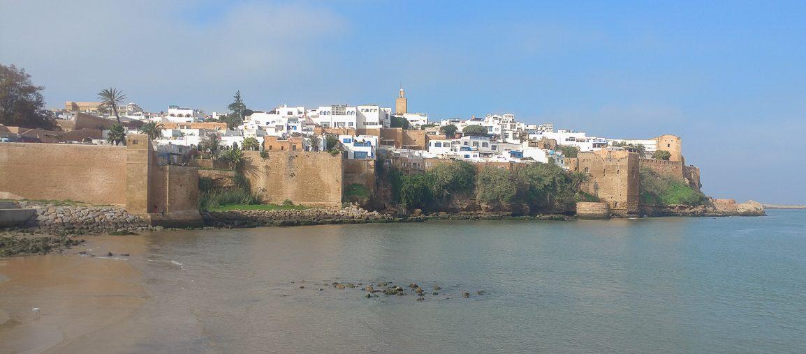 Rabat, view of the Oudayas Kasbah