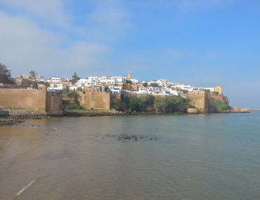 Rabat, view of the Oudayas Kasbah