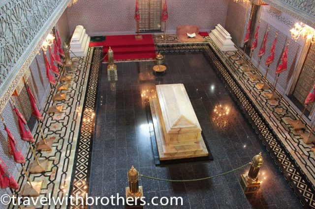 Rabat, the tomb of King Mohammed V