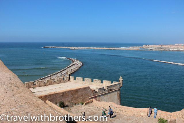 Rabat, view from Plateforme du Sémaphore