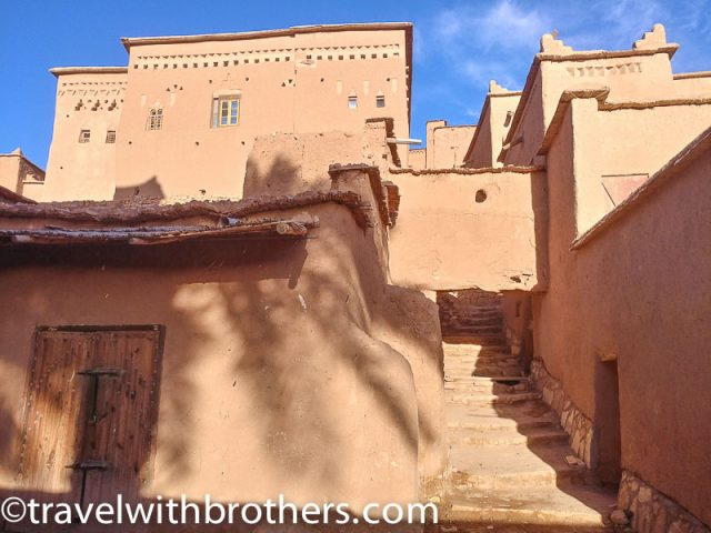 Morocco, the mud houses of Ait Ben Haddou