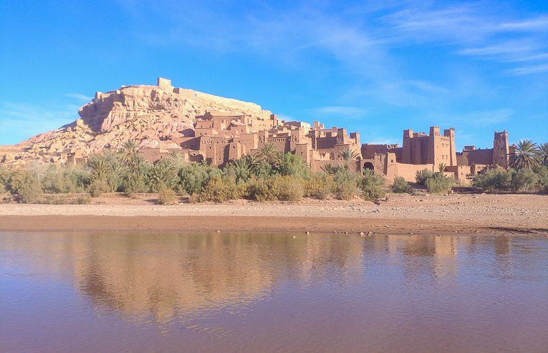 Morocco, the charming ksar of Ait Ben Haddou