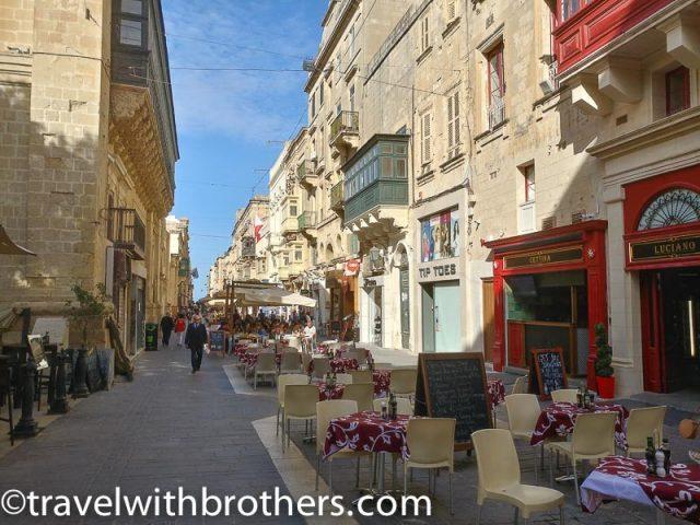 Malta, the capital city Valletta