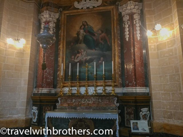 Mdina, the Chapel of the Virgin Mary-St Paul Cathedral