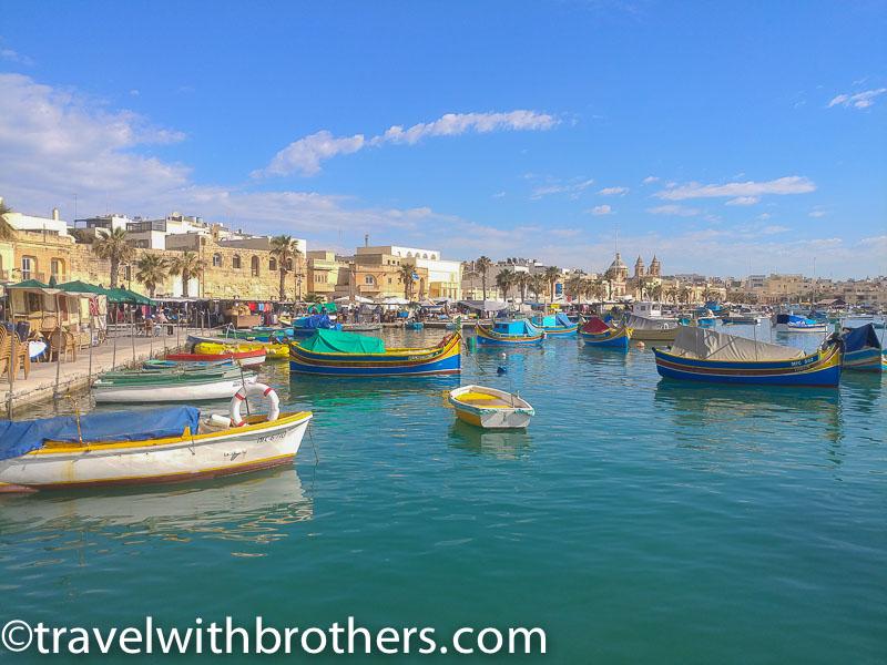 Malta, Marsaxlokk Bay