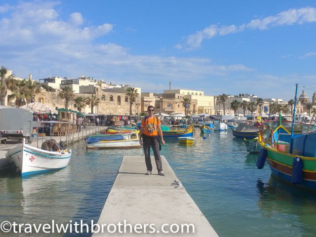 Malta, the fishing village of Marsaxlokk 091519