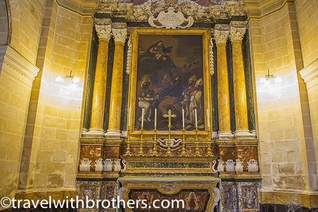 Mdina, the Chapel of St Luke - St Paul Cathedral
