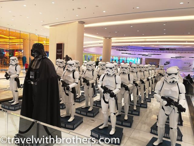 Dubai Mall,The Imperial Army of Star Wars