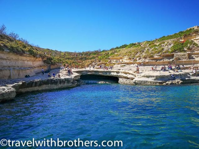 Malta, St Peter's Pool