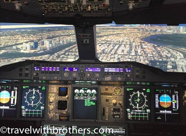 Dubai Mall, A380 experience