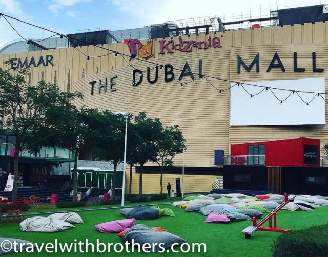 Dubai Mall, the open-air Cinema
