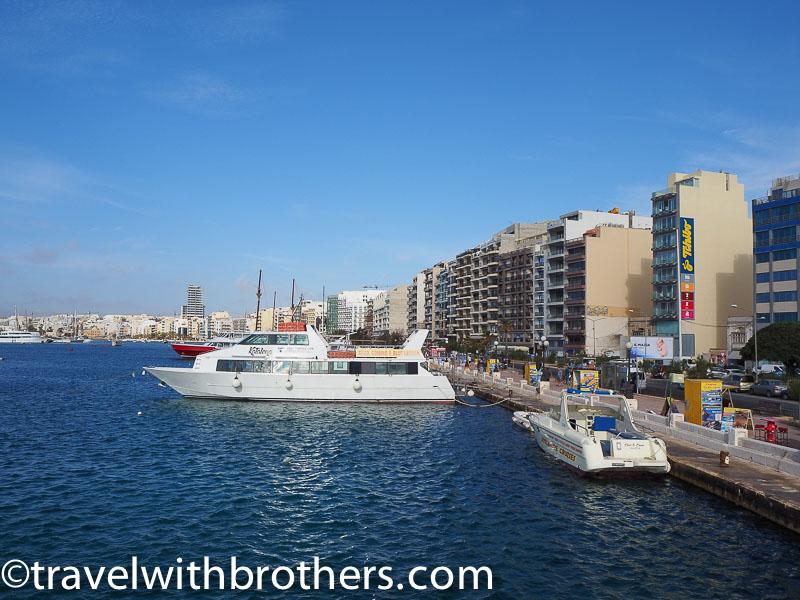 Malta, Sliema promenade