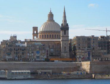 Malta, Valletta skyline