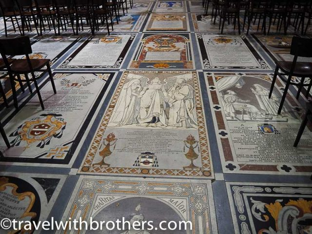 Mdina, St Paul Cathedral floor