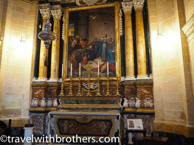 Mdina, The Chapel of Pentecost-St Paul Cathedral