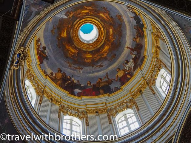 Mdina, St Paul Cathedral dome