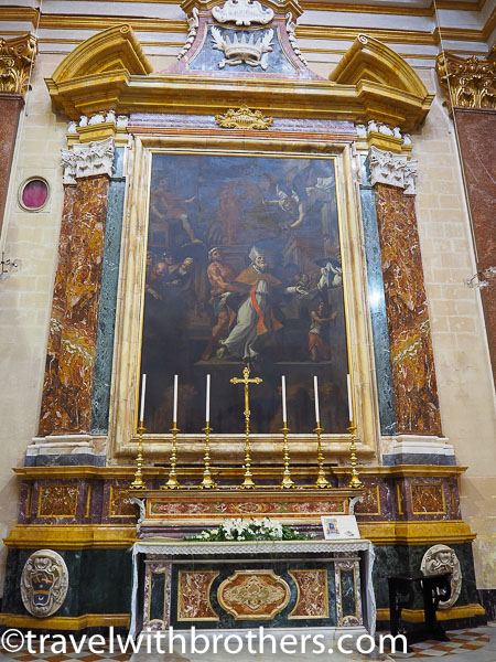 Mdina, the Chapel of St Publius - St Paul Cathedral