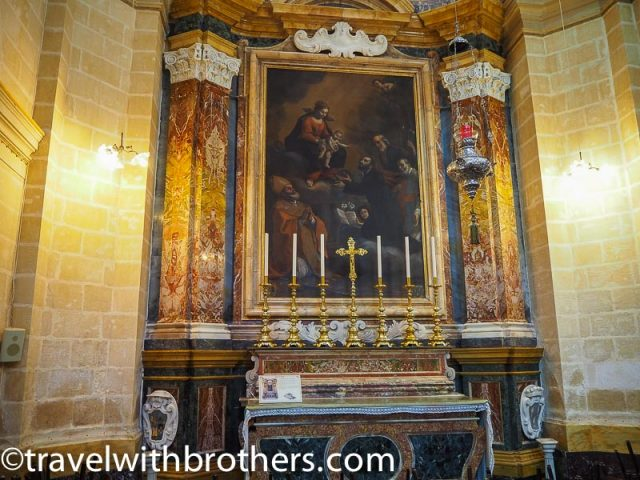 Mdina, the Chapel of St Cajetan - St Paul Cathedral