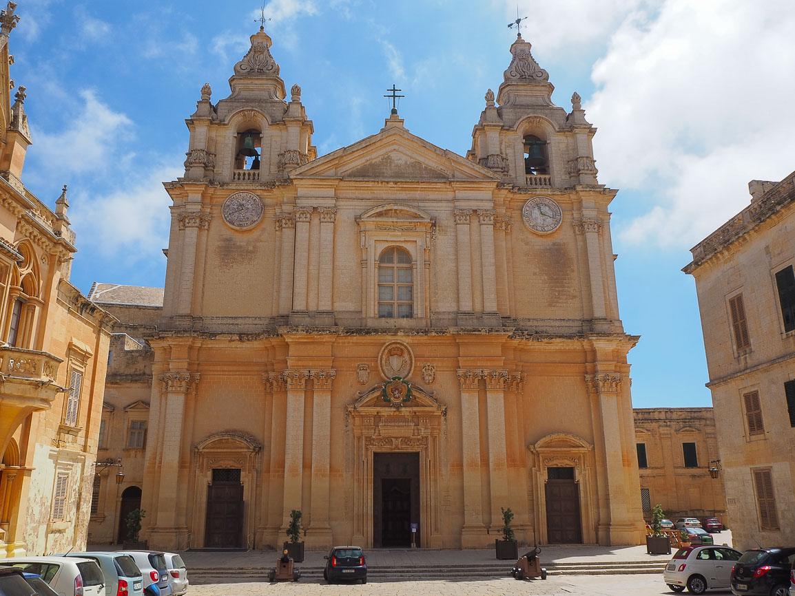 Malta, Mdina Cathedral