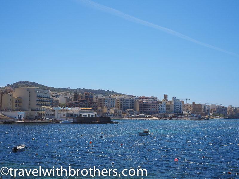 Malta, Bugibba promenade