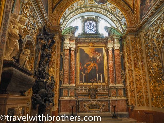 Malta,The Chapel of the Langue of Castille, Leon and Portugal, St John Co-Cathedral