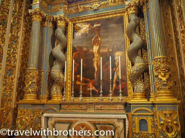 Malta, the Chapel of the langue of Auvergne, St John Co-Cathedral