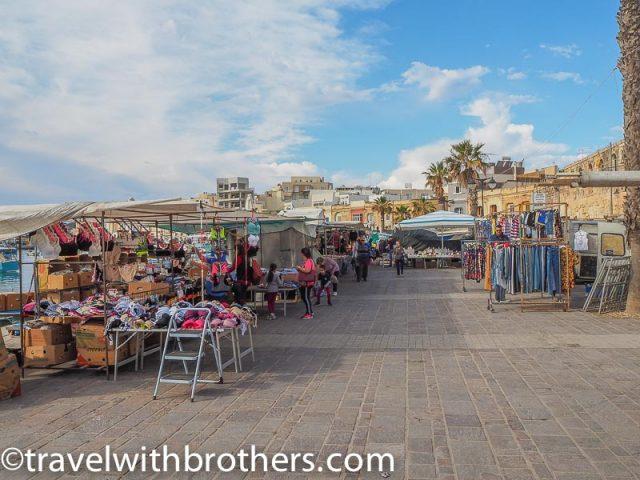 Malta, Marsaxlokk sunday market