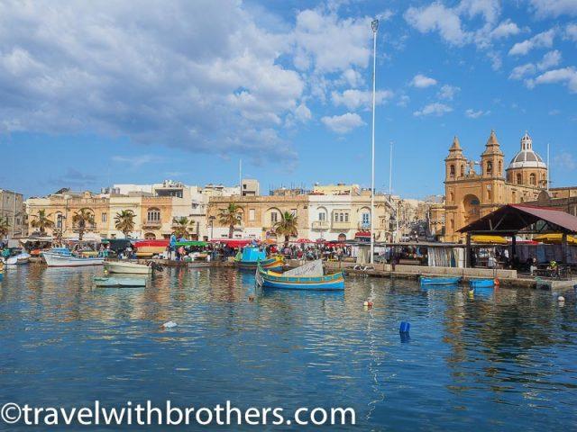 Malta, Marsaxlokk promenade