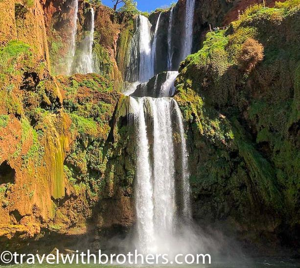 Morocco, Ouzud waterfalls