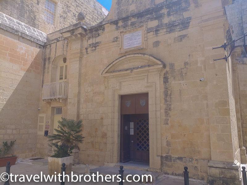 Mdina, St Agatha's Chapel