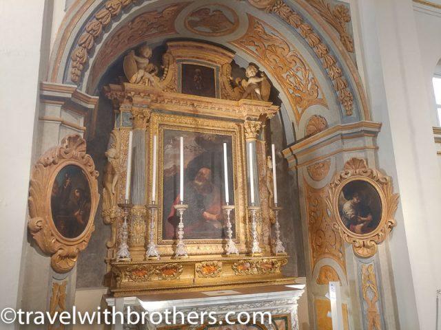 Altar of St John the Evangelist