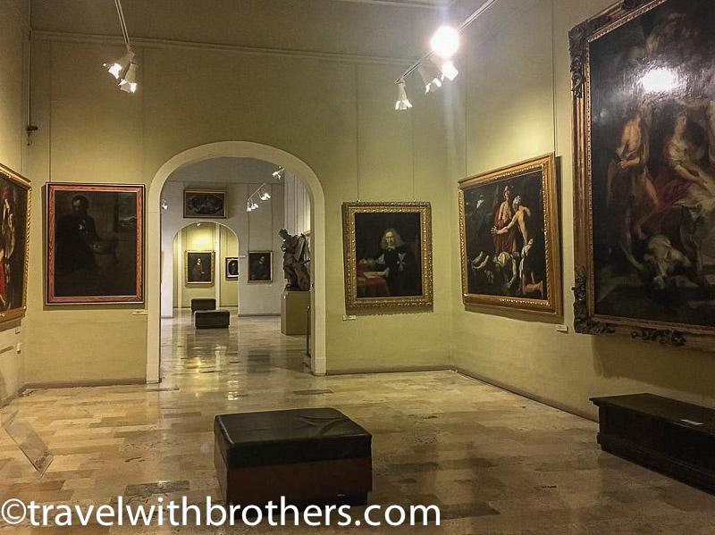 Valletta, National Museum of Fine Arts