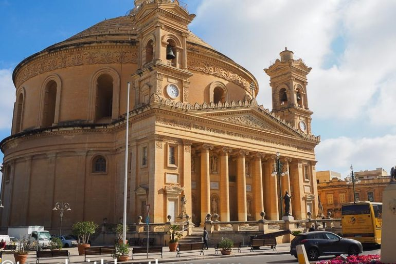 Malta, the Mosta Dome