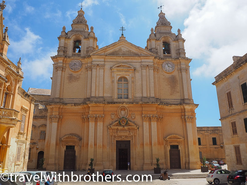 Mdina, St Paul Cathedral