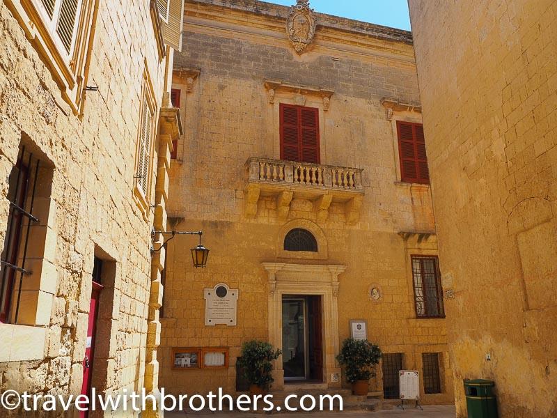 Mdina, Palazzo De Piro