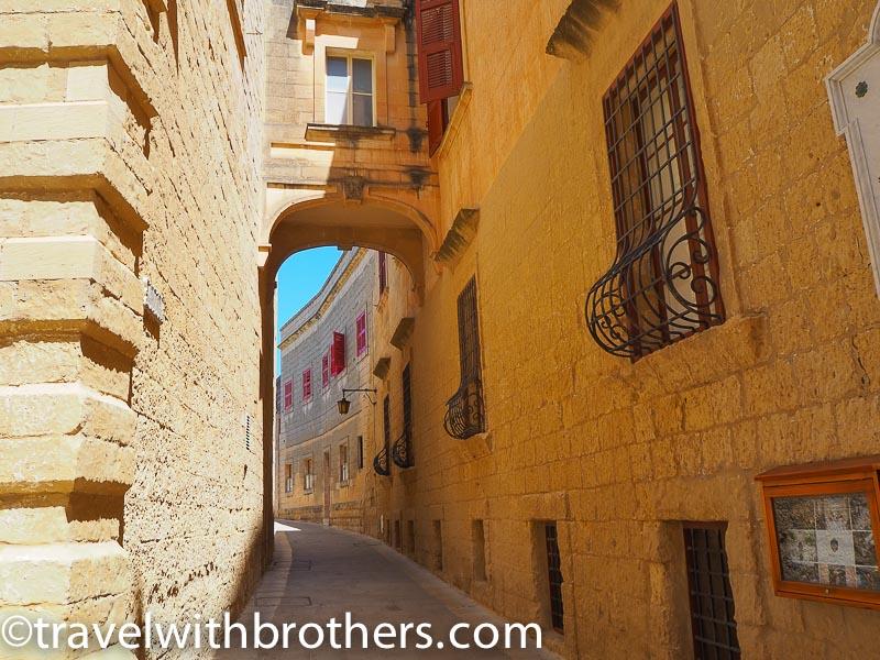 Mdina, a narrow alley