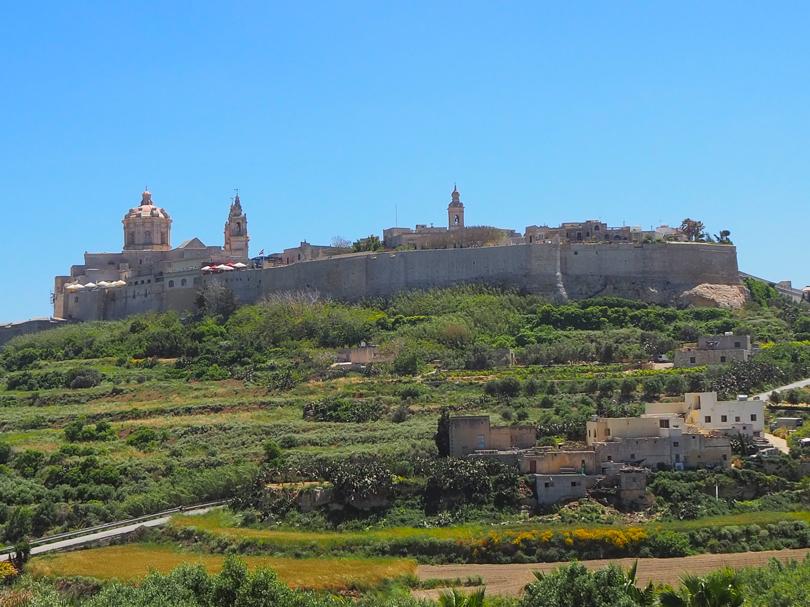 Malta, the fortified city of Mdina
