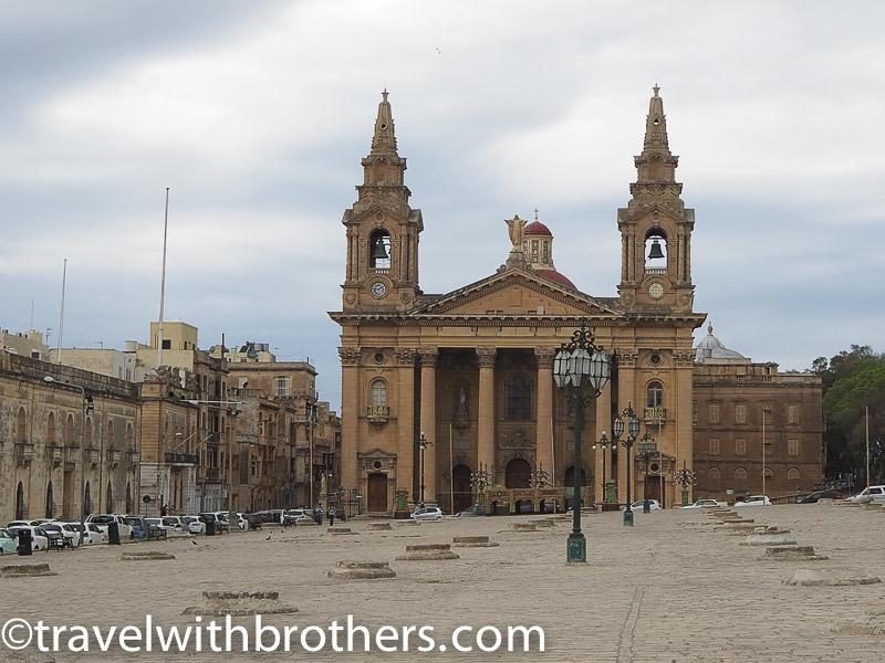 Malta, st Publius' square in Floriana
