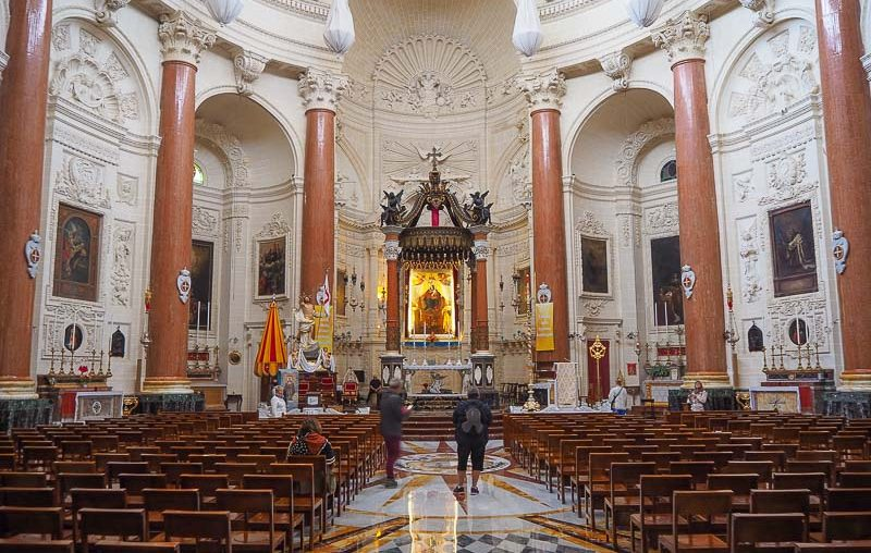 Valletta,Basilica of Our Lady of Mount Carmel