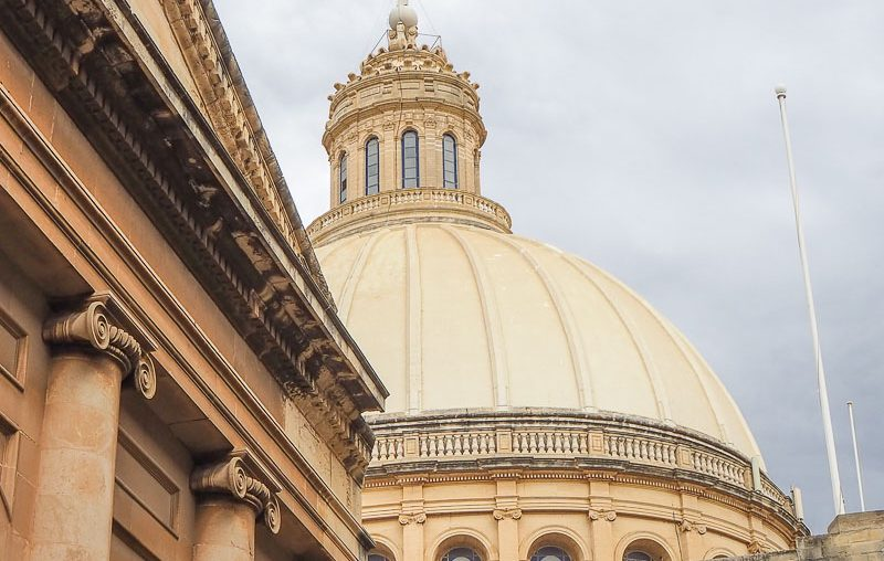 Malta, Church of Our lady of Mount Carmel dome