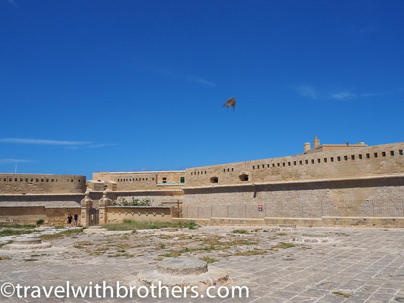 Malta, Fort St Elmo in Valletta