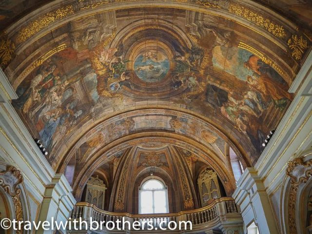Our Lady of Victory - Paintings of the vault